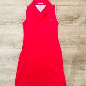 Tommy Hilfiger hot pink tank dress💕